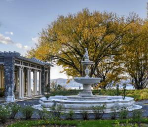 Fountain at Kykuit, the Rockefeller estate