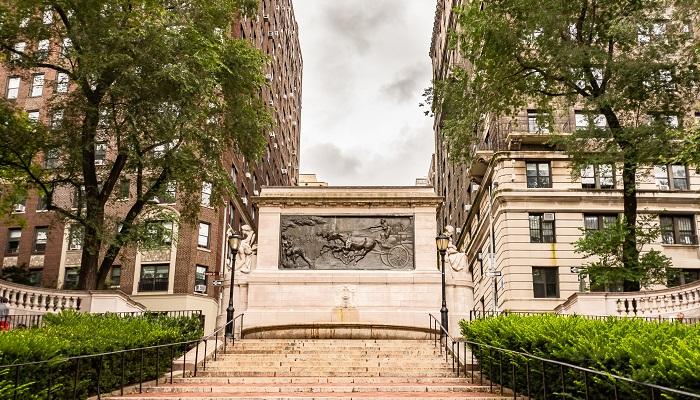 Firemen's Memorial in Riverside Park, NYC